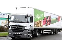 Class 1 Drivers needed for Booker Retail Partners in Andover - £31,000 av. earnings