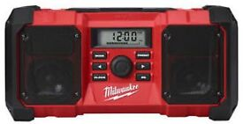 Milwaukee Jobsite Radio with Bluetooth