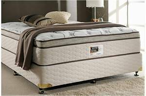 WHY PAY $249 FOR EXDISPLAY QUEEN PILLOWTOP MATTRESS WE SELL $189 Melbourne CBD Melbourne City Preview
