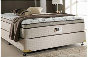 WHY PAY $249 FOR EXDISPLAY QUEEN PILLOWTOP MATTRESS WE SELL $189
