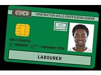 DISCOUNTED CSCS card tests and training for Camden/Islington residents Call 02035892154
