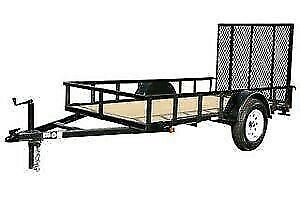 Wanted:  8 or 10' Utility trailer