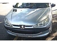 Peugeot 206 Front Bumper In Grey Colour (2005)