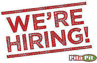 Pita Pit Now Hiring Multiple positions
