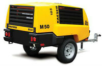 RENTAL!!! M50 Kaeser Portable Air Compressor DIESEL TOW BEHIND