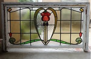 Antique Leaded Stained Glass Windows - Phone (306) 220-9440