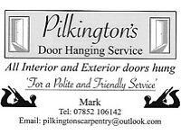 Pilkington's Door Hanging Service
