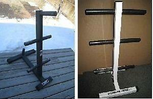 "WEIGHT TREES - Left TuffStuff for 2""-Hole Olympic Plates $125 -"