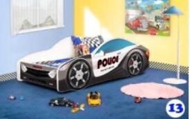 Toddler police bed