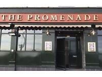 The Promenade -Supervisors and Bar Staff wanted - Must have experience in hospitality.