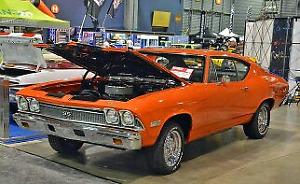 Chevrolet chevelle 1968 vrai  ss396