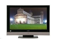 32inch Hitachi LCD TV integrated Freeview one 1080i HDMI