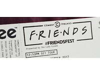 2 Friends Fest tickets, with studio tour - London Clissold Park