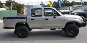 2003 Toyota Hilux KZN165R (4x4) 5 Speed Manual Dual Cab Chassis