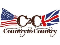 Two tickets to C2C: Country to Country at O2 in SOLD OUT section
