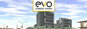 evo Condos + Towns start from the low $200,000's