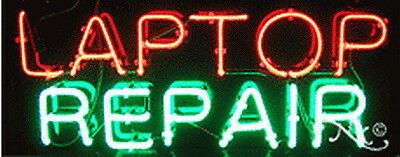 New Laptop Repair 32x13x3 Computer Real Neon Sign Wcustom Options 10485