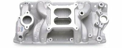 Edelbrock Performer RPM Air-Gap Intake Manifold 7501 Fits: SBC Chevy 327 350