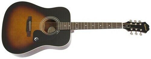 Epiphone DR-100 Dreadnought Acoustic Guitar (Vintage Sunburst)