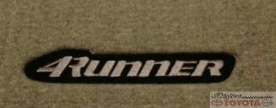 OEM TOYOTA 4RUNNER FLOOR MAT SET OF 4 FITS 1996-2002 PT206-89010-14 OAK COLOR 2002 Toyota 4runner Floor