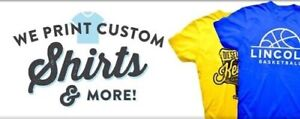 T-Shirt Printing Services! Low Cost Price!