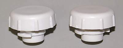 Bunn Cds Faucet Caps - Brand New Factory Parts - Set Of Two White 26793.0000 S
