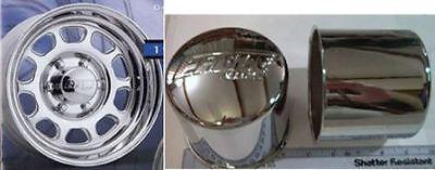 1 Eagle Alloy Center Caps 5 lug FOR Ford 6 lug Chevy Truck 3118-06 4.25 -