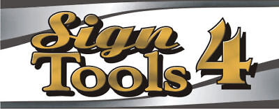 BEST software for Roland Cutter, SignTools 4 Corel Draw - vinyl cutting