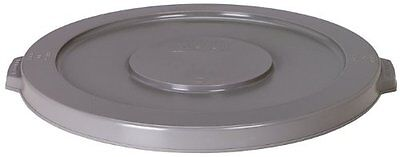 Continental Round Trash Can - Continental 3201 Huskee 32 Gallon Round Trash Can Lid Only, Grey