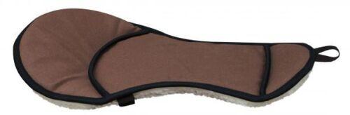 "Showman Western Saddle SEAT SAVER Fleece Bottom & Cordura Nylon Top 21.5"" X 12"""