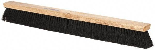 "PRO-SOURCE 30"" General Purpose Horsehair Blend Push Broom 3"" Bristle Length, ..."