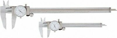 Value Collection 0 To 6 And 12 Outside Diameter Dial Caliper Set 0.001 Grad...