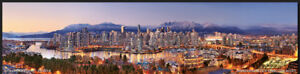 Latest Vancouver Skyline Panorama picture NOW $29