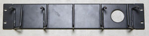 Cable Mgmt Panel, 2u, 5-Ring Low-Profile $20.00