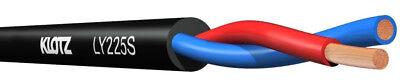 KLOTZ LY225 TSW Twin Lautsprecherkabel, Meter