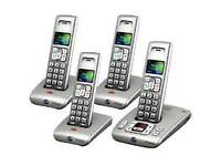 BT Synergy 6500 quad cordless phones