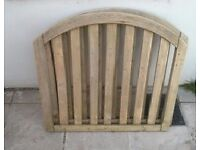 Cottage Style Arched Garden Gate for sale.