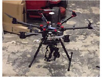 DJI S900 spreading wings with Accessories contact with offer