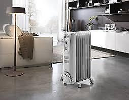 Delonghi Safe Heat Oil Filled Radiator TRH0715CA 1500W