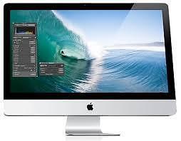 iMac Core i7 2.93 Ghz 27 pouces / 8 Go / 1 tera / OSX Sierra très propre + vitre neuve