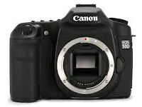 Canon 50D mint condition Body only