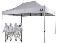 Brand New All Seasons Pop Up Gazebo Frame 3m x 4.5m without Canvas Roof still boxed
