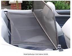 Mercedes CLK 2002 Wind deflector (W208)