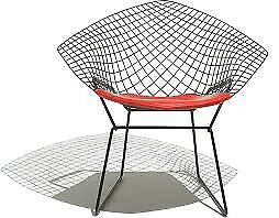 Bertoia Diamond Chair for sale. AUTHENTIC NOT REPLICA.