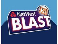 LESS THAN FACE VALUE T20 Final Twenty Twenty Cricket Tickets Finals Day Edgbaston Saturday 02/09/17