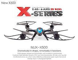 mjx 500 xseries quadcopter drone fpv ( live view phone )