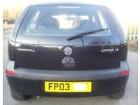Corsa c boot lid ONLY