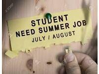Red Cross door-to-door Fundraiser - student summer job - £9.75-£13/hr