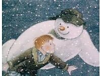 THE SNOWMAN THEATRE TICKETS AT THE THE REP BIRMINGHAM X2 SUNDAY 15/1/2017
