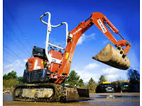 Digger Excavator Hire with Operator All areas covered call Andy on 07568 441277
